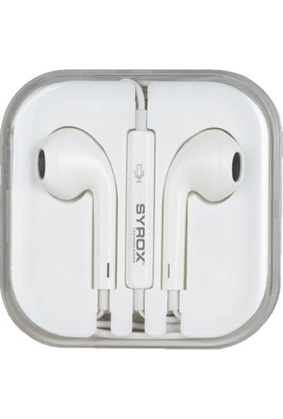 Syrox K12A Mikrofonlu Kulakiçi Kulaklık