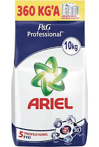 Ariel Matik Toz Deterjan Beyazlar Için 10 kg