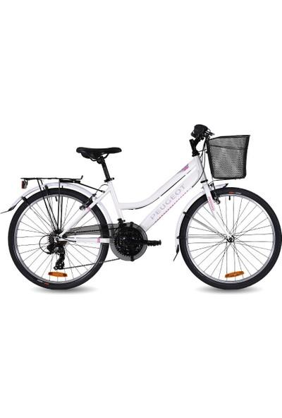 Peugeot T 15 24 Bayan Şehir Tur Bisikleti V 24 Jant 21 Vites