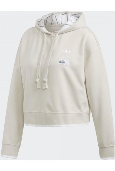 adidas Krem Kadın Günlük Sweatshirt Du9936