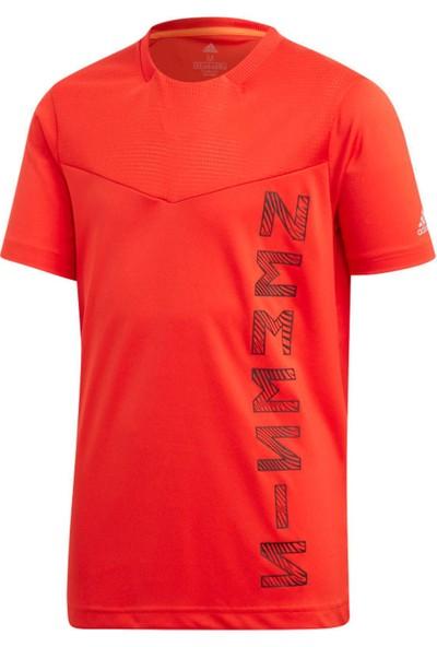 adidas Kırmızı Çocuk Futbol Forması Ed5711