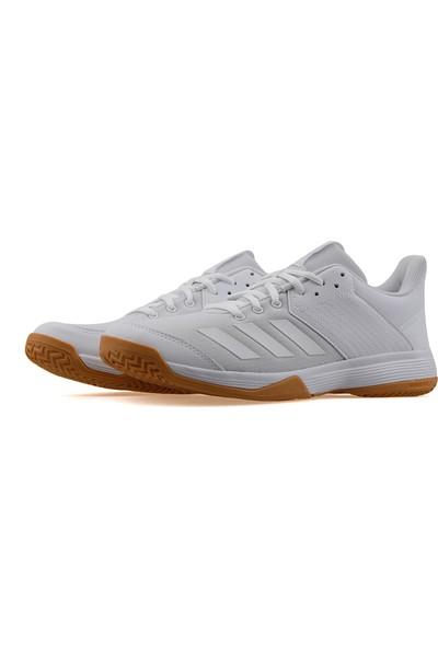Adidas Beyaz Kadın Salon/Indoor Ayakkabısı D97697