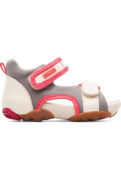 Camper Beyaz Bebek Günlük Sandalet K800275 002