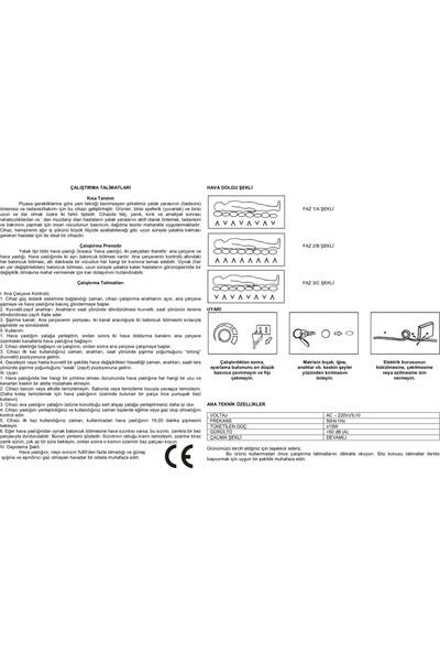 Life Net Medikal Havalı Yatak + Ayarlanabilir Motor