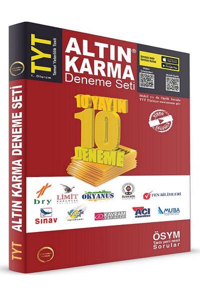 Altın Karma Yayınları TYT 10 Farklı Yayın 10 Farklı Deneme