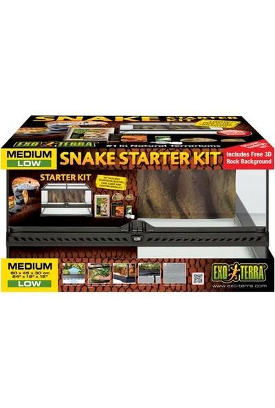 Exo Terra Snake Teraryum Kit 45 x 45 x 30 cm