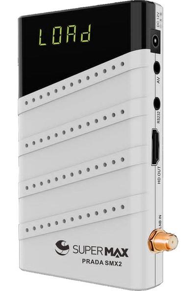 Supermax Prada SMX2 HD Uydu Alıcısı