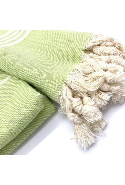 Kashni Alaçatı Peştemal - Fıstık Yeşili