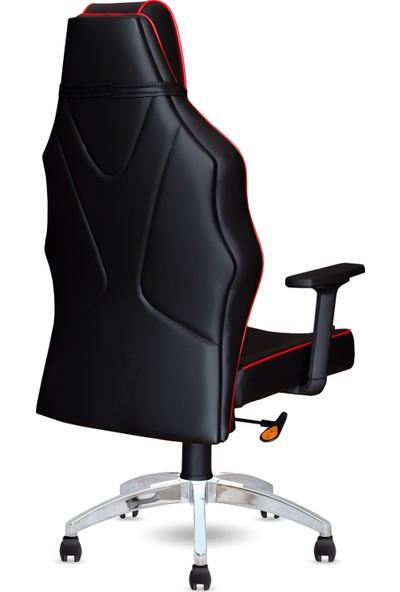 Calitte   Harley VIP CX   Profesyonel Oyuncu Koltuğu   Siyah-Kırmızı