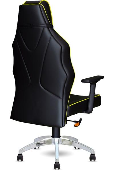 Calitte   Harley VIP CX   Profesyonel Oyuncu Koltuğu   Siyah-Sarı