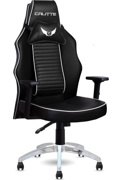 Calitte   Harley VIP CX   Profesyonel Oyuncu Koltuğu   Siyah-Beyaz