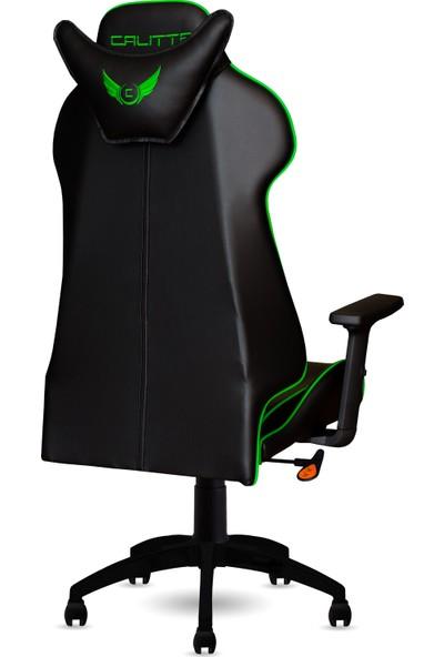 Calitte   Samurai Serisi   Profesyonel Oyuncu Koltuğu   Siyah-Yeşil