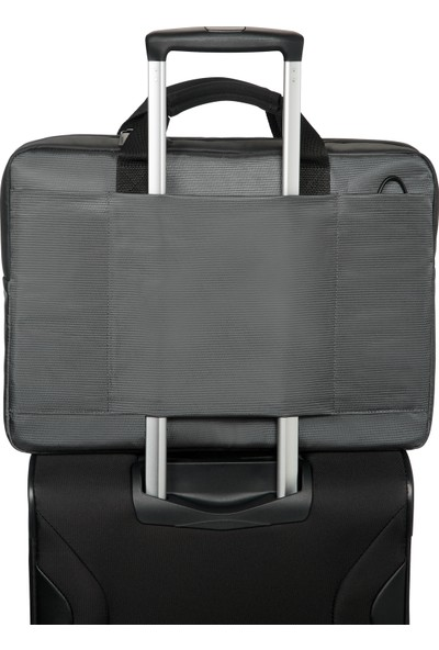 "Samsonite Qibyte 17.3"" Antrasit Notebook Çantası 16N-09-003"