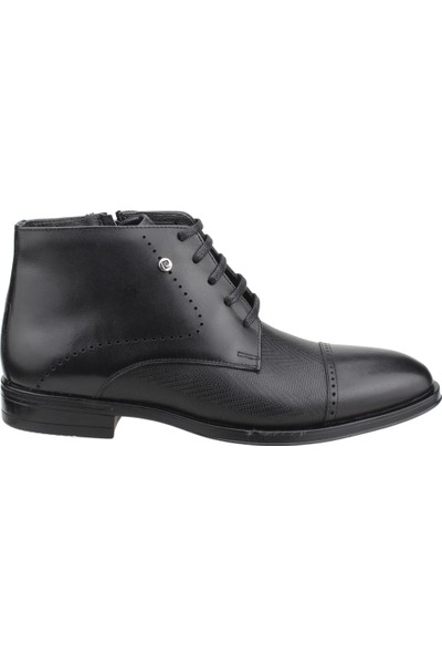 Pierre Cardin 1195861 Günlük Deri Erkek Kauçuk Bot Ayakkabı Siyah