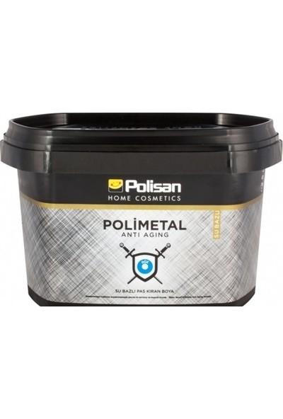 Polisan Polimetal Su Bazlı Metal Boyası Beyaz 2,5 Lt