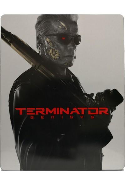 Terminator Genisys - Terminatör Yaradılış - 2 Disk - 3D + 2d Bluray Limited Edition Steelbook