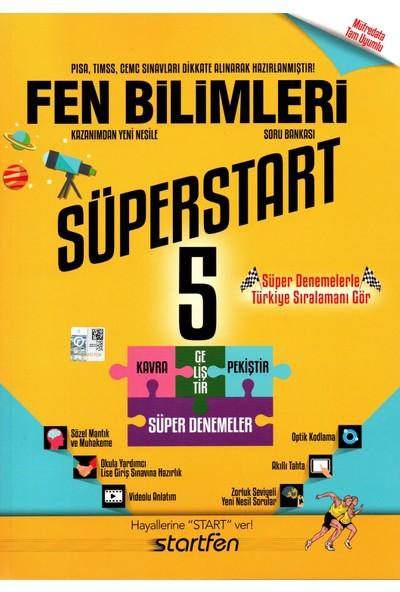 Startfen Yayınları 5. Sınıf Fen Bilimleri Süperstart Soru Bankası