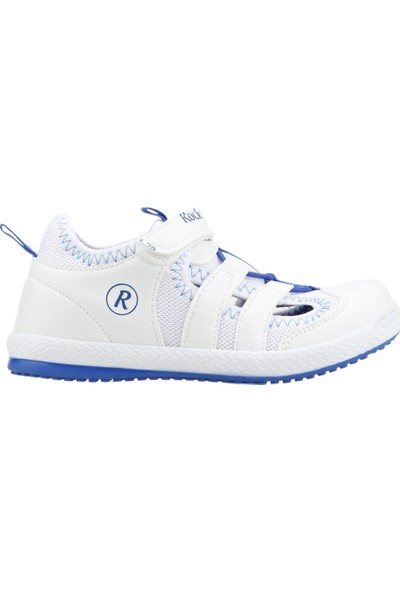 Kiko Kids Rocky Günlük Yürüyüş Koşu Erkek Çocuk Spor Ayakkabı Beyaz