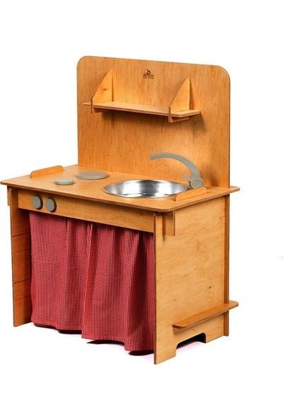 Flytoys Ahşap Oyun Mutfağı