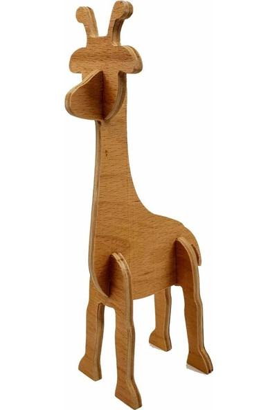 Flytoys Ahşap Puzzle Zürafa