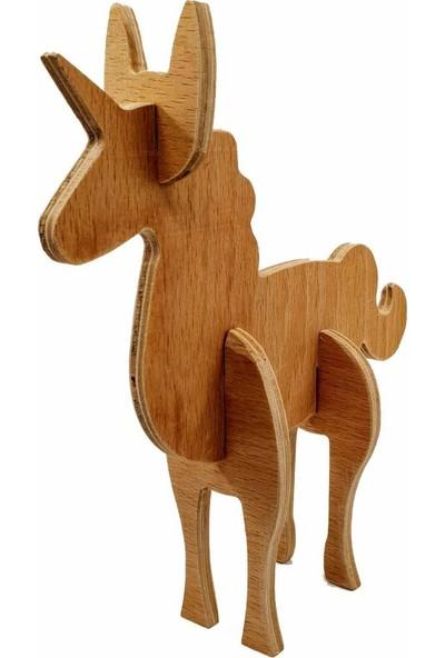 Flytoys Ahşap Puzzle Unicorn