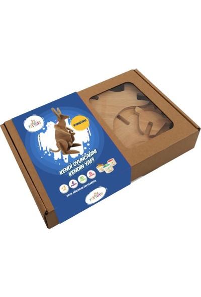 Flytoys Ahşap Puzzle Kanguru