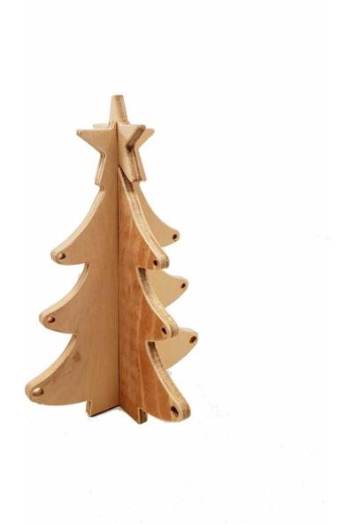 Flytoys Ahşap Puzzle Çam Ağacı