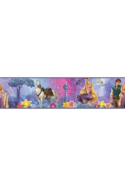York RoomMates RMK1523BCS Rapunzel Bordür Duvar Sticker