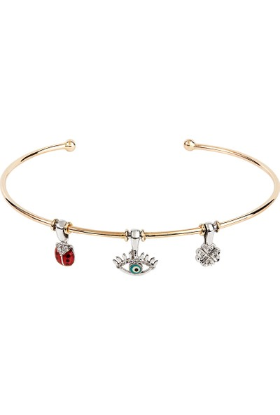 Clavis Jewelry Charmlı Bilezik 14 Ayar