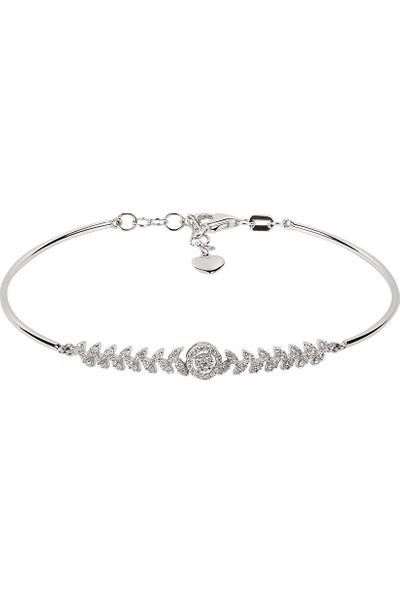 Clavis Jewelry Pırlanta Fantezi Bileklik 14 Ayar
