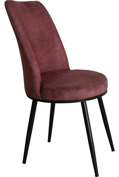 Armens Gold Mutfak - Bahçe Cafe - Restorant Sandalyesi (Siyah Ayak)