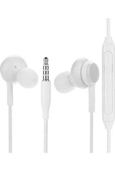Galaxy S8 S9 Kulaklık Super Bass Hd Ses - Beyaz