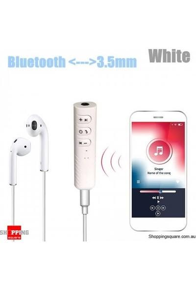 Oto Araç Aux Bluetooth Adaptör Müzik Çalar Bluetoothlu