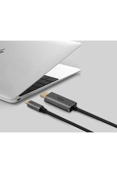 Daytona Bix Type C To HDMI Fhd 4K Çevirici Adaptör