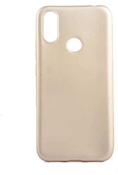 Tekno Grup Casper Via S Kılıf Mat Premium Silikon Kılıf - Gold