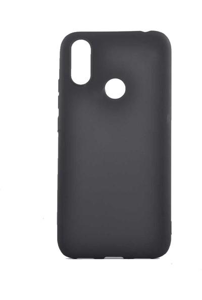 Tekno Grup Casper Via S Kılıf Mat Premium Silikon Kılıf - Siyah + Cam Ekran Koruyucu