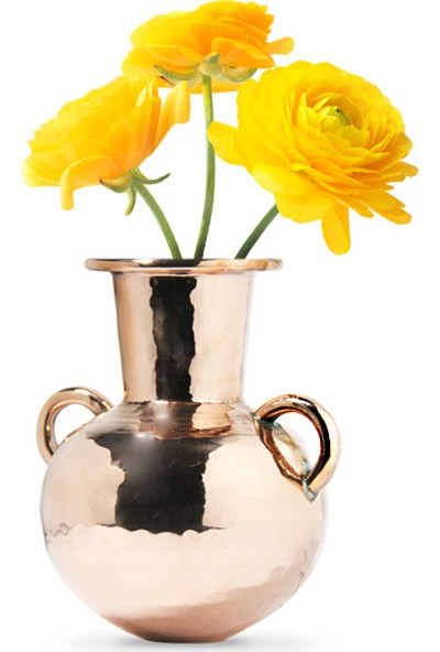 Coho Artisan Antik Bakır Vazo