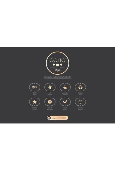 Coho Artisan French Mignon Bakır Mini Kaktüs Saksı