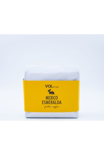 Voi Mexico Esmeralda Filtre Kahve 250 gr Öğütülmüş
