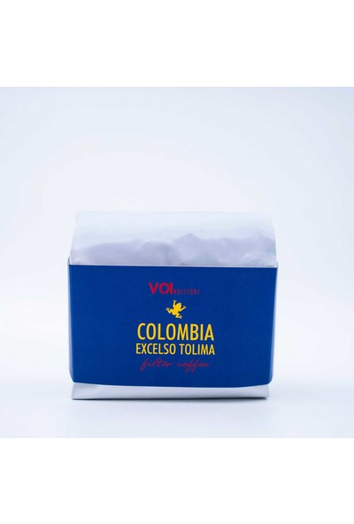 Voi Colombia Excelso Tolima Filtre Kahve 250 gr Çekirdek