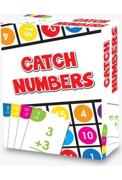 Venüs Oyuncak Catch Numbers Temel Matematik Oyunu