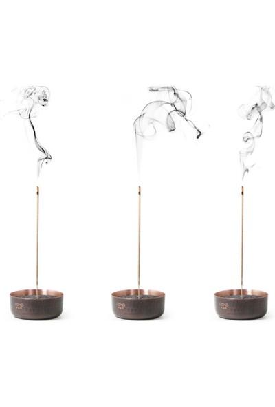 Coho Antique Meditation Bakır Kumlu Tütsülük 3'lü Set