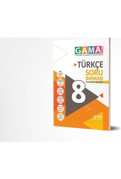 Gama Yayınları 8.Sınıf Turkçe Soru Bankası