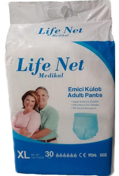 Life Net Medikal Külotlu Hasta Bezi 30 Adet Xlarge