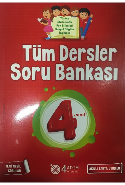 4 Adım 4. Sınıf Tüm Dersler Soru Bankası
