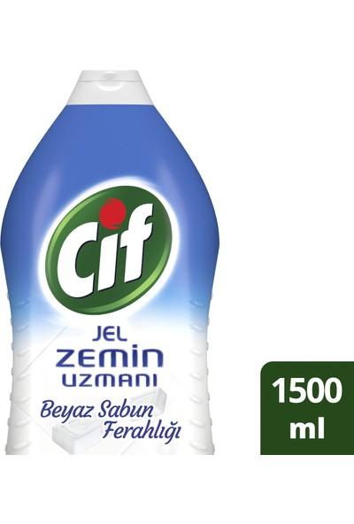 Cif Jel Zemin Uzmanı Beyaz Sabun Ferahlığı 1500 ml