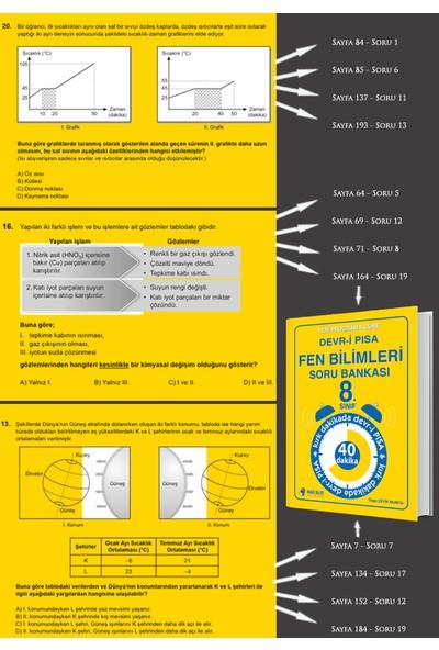 Mavi Bilye Yayınları Yeni Programa Göre Devr-İ Pısa Fen Bilimleri Soru Bankası
