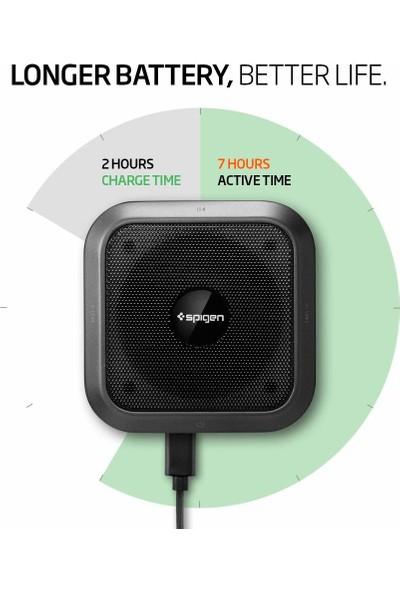 Spigen Teka 5W Premium Sound Compact Kablosuz Bluetooth 5.0 Dahili Mikrofonlu Hoparlör (SD Kart + Aux Girişli) R12S - SGP11879