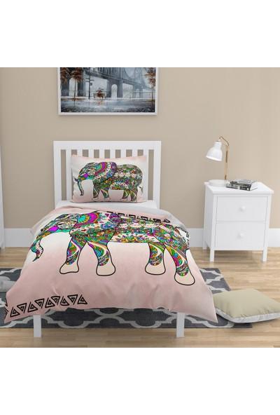 Monohome Elephant Naturel Tek Kişilik Nevresim Takımı