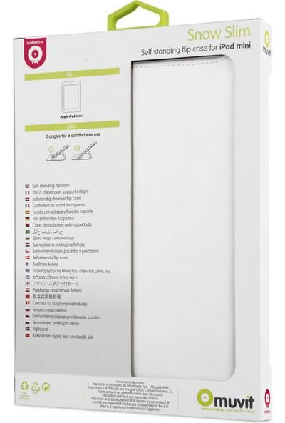 Muvit Apple iPad Mini Slim Kılıf ve Stand - Beyaz